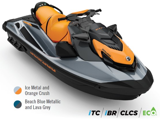 Orange Crush Seadoo GTI SE 170