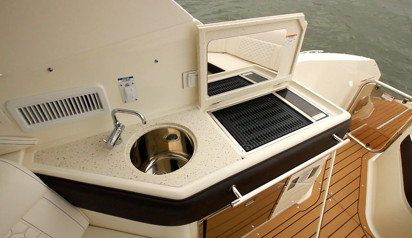 Sink and grill
