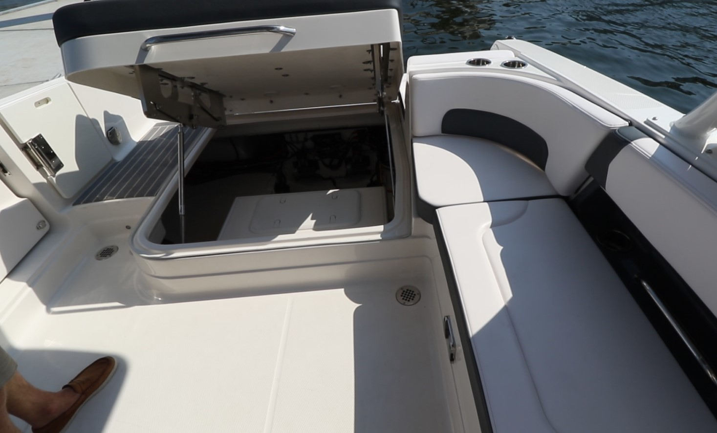 Boat mechanical compartment