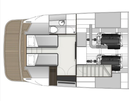 Aft stateroom layout