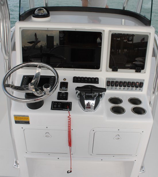 Bluewater 2550 port steering