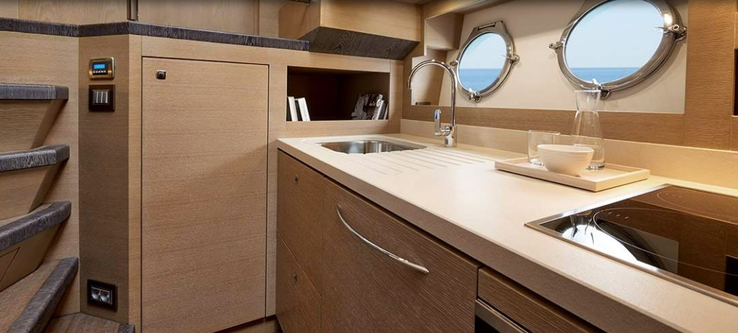 Monte Carlo Yachts 80 galley