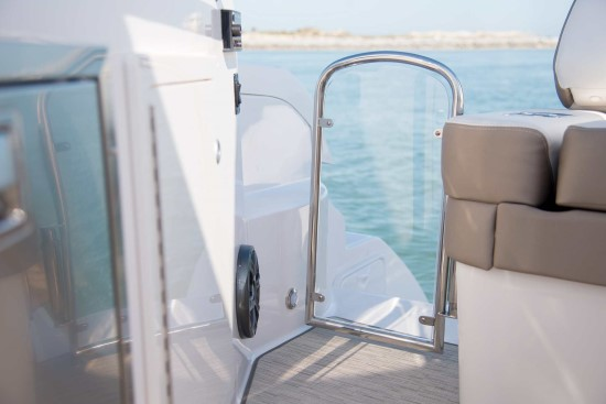 Regal 33 XO transom door