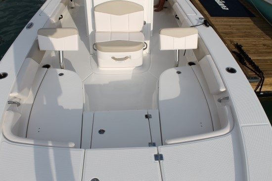 Robalo 246 Cayman SD back rest