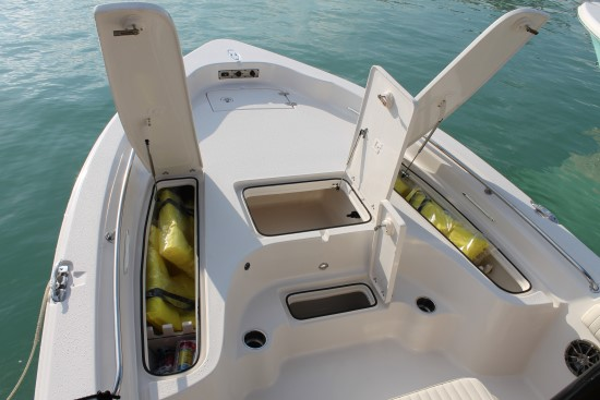 Sea Chaser 23 LX bow open