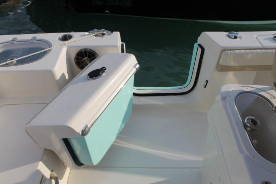 Sea Chaser 24 HFC side door