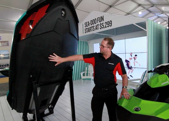 Sea-Doo Four Innovations Polytech Material