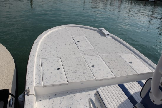 Shallow Sport 25 X3 webbed interior finish