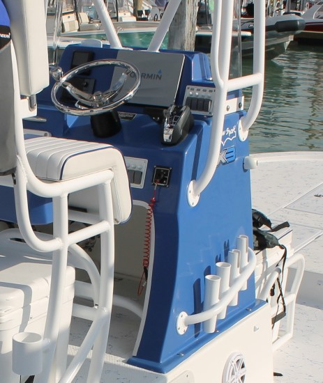 Shallow Sport 25 X3 narrow center console