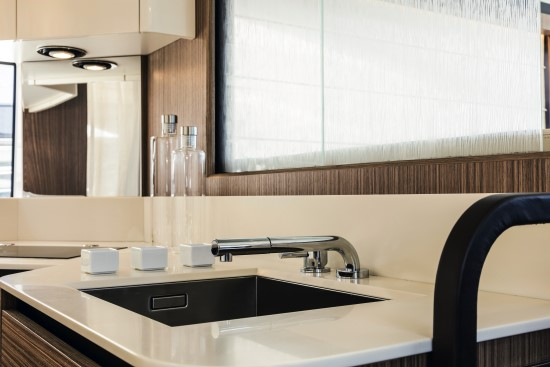 Absolute 58 Fly corian counter