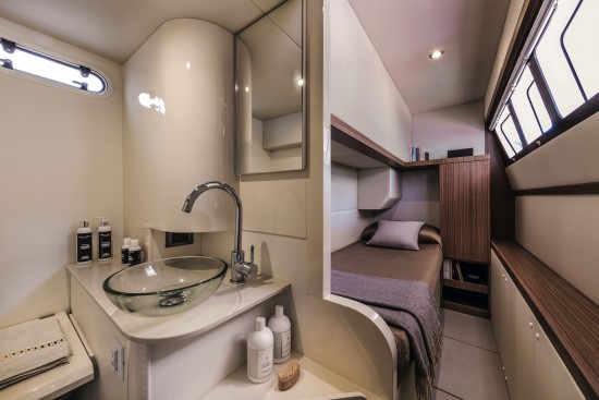 Absolute 58 Fly crew cabin