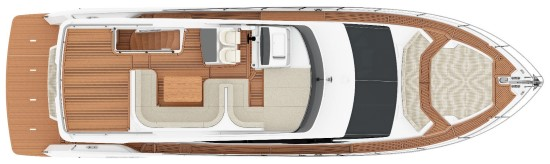 Absolute 58 Fly exterior layout