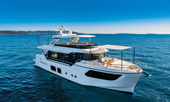 Absolute Navetta 73 bimini top
