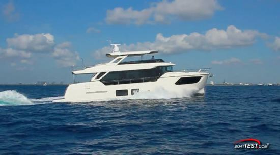 Absolute Navetta 73 running