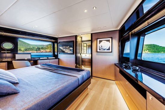 Absolute Navetta 73 panoramic vista