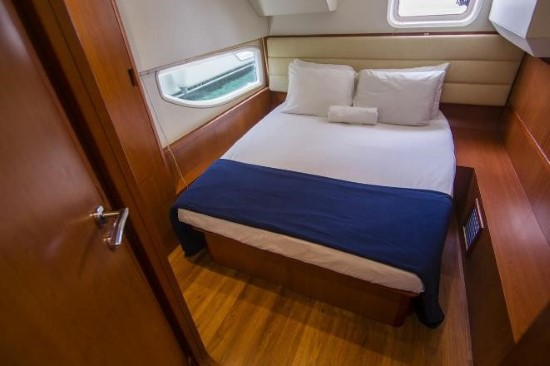 Aquila 48 aft guest stateroom