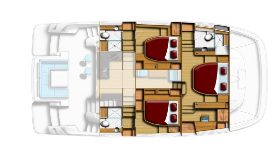 Aquila 44 floor plan