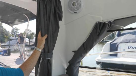 Beneteau Antares 23 curtains