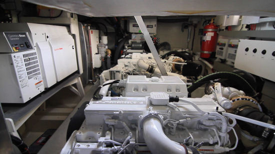 Beneteau Monte Carlo 6 engine room