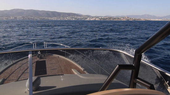 Beneteau Monte Carlo 6 following seas