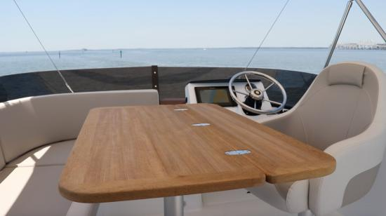 Beneteau Swift Trawler 35 helm chair