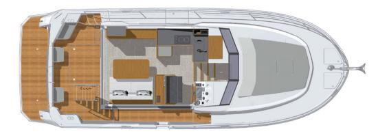 Beneteau Swift Trawler 35 main deck