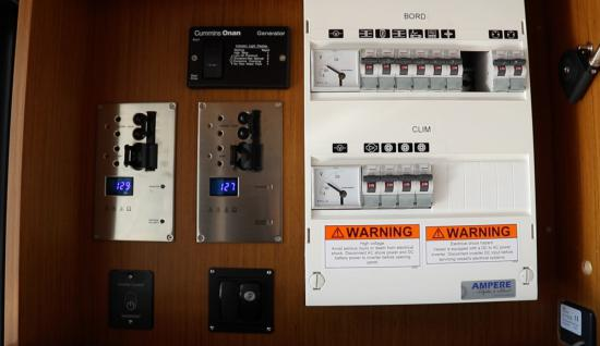 Beneteau Swift Trawler 35 electrical panel