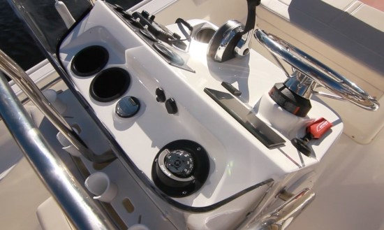 Boston Whaler 150 Montauk Recessed Console Top