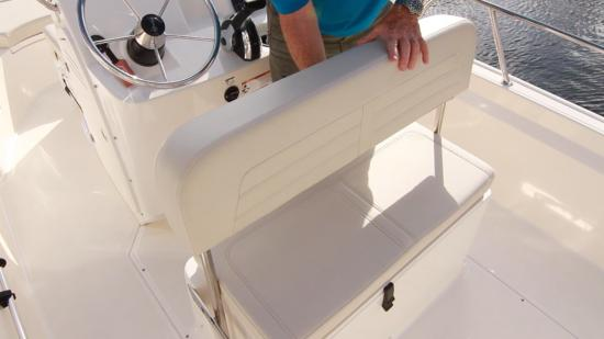Boston Whaler 170 Montauk back rest