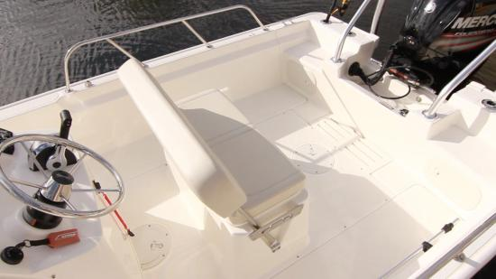Boston Whaler 170 Montauk bench seat