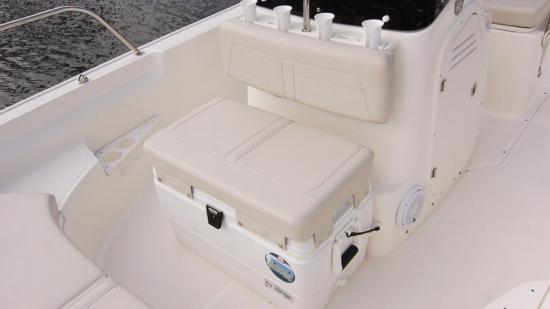 Boston Whaler 170 Montauk cooler