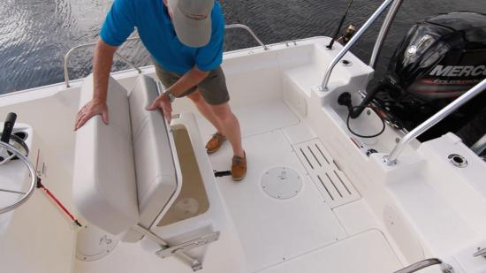 Boston Whaler 170 Montauk placement