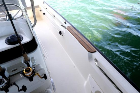 Boston Whaler 170 Montauk grab rails