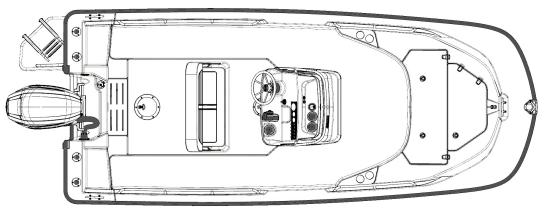 Boston Whaler 170 Montauk layout