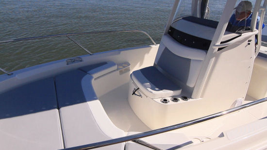 Boston Whaler 210 Dauntless console seat
