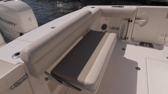 Boston Whaler 330 Outrage transom seat