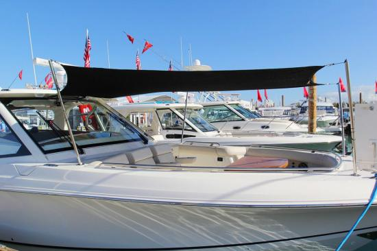 Boston Whaler 380 Realm shade