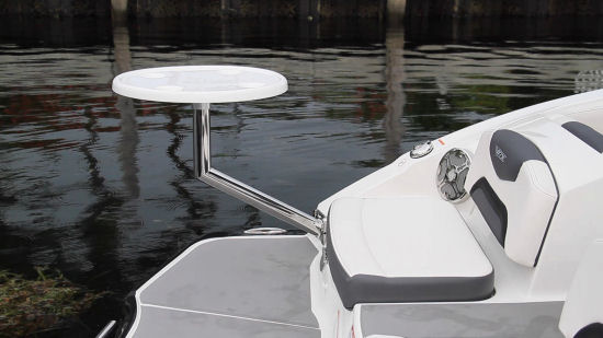 Chaparral 223 VRX stern table