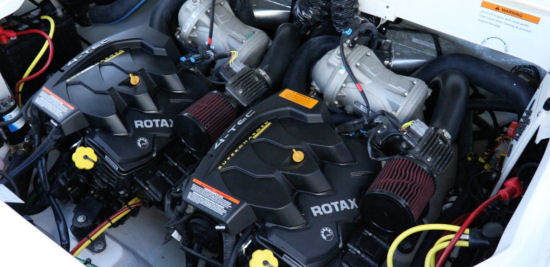 Chaparral 243 Vortex VRX engine