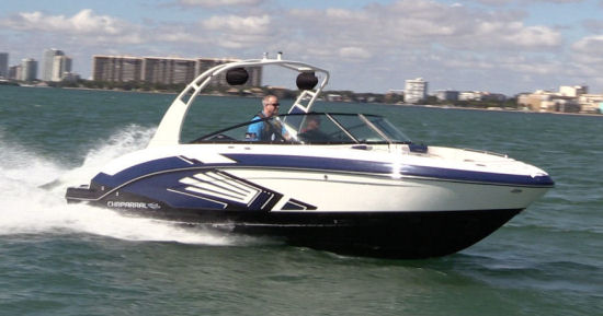 Chaparral 243 Vortex VRX running shot