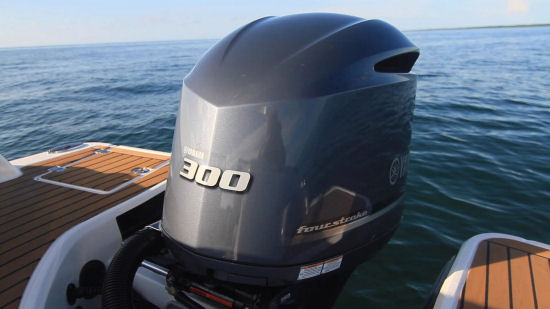 Chaparral 250 SunCoast OB outboard power