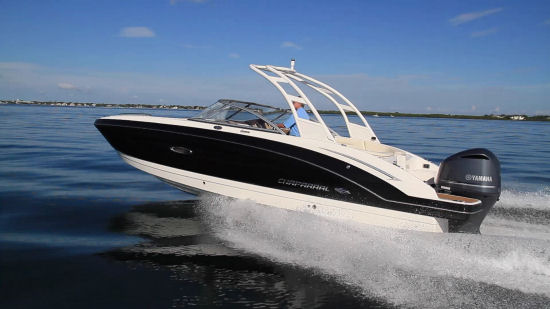Chaparral 250 SunCoast OB sport arch
