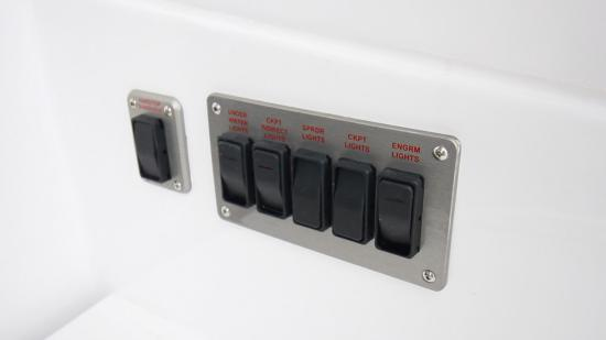 Cruisers Yachts 46 Cantius light switches