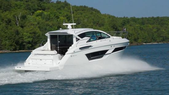 Cruisers Yachts 46 Cantius pod drives