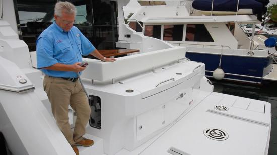Cruisers Yachts 46 Cantius raised