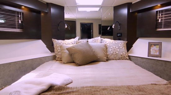 Cruisers Yachts 50 Cantius forward stateroom