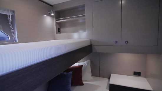 Cruisers Yachts 54 Cantius guest room