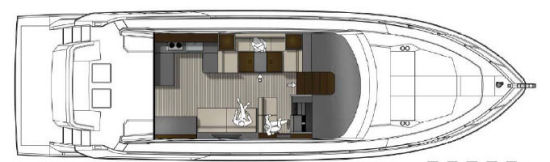 Cruisers Yachts 54 Cantius layout