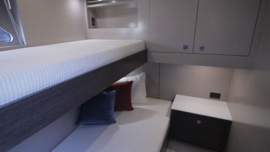 Cruisers Yachts 54 Cantius third stateroom