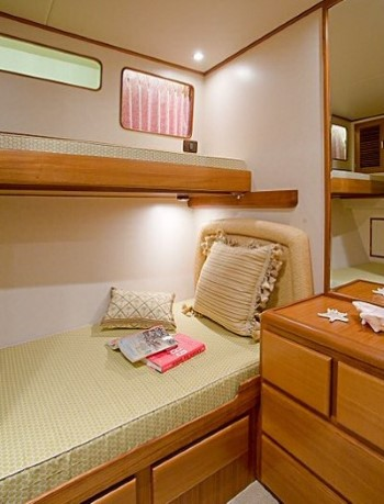 Fleming 55 3rd stateroom